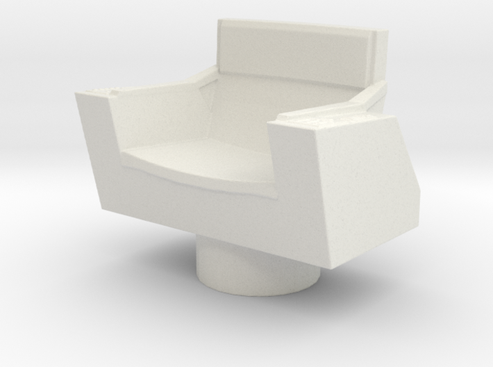 Captain's Chair, No Base (Star Trek Classic), 1/30 3d printed
