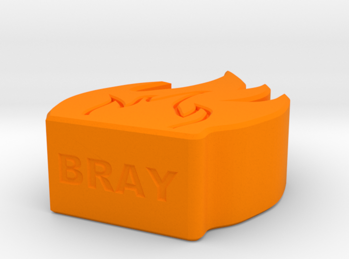 Fire Game Piece A Small 3d printed