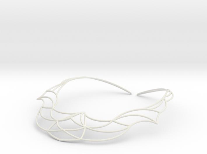 Nouv Necklace 3d printed