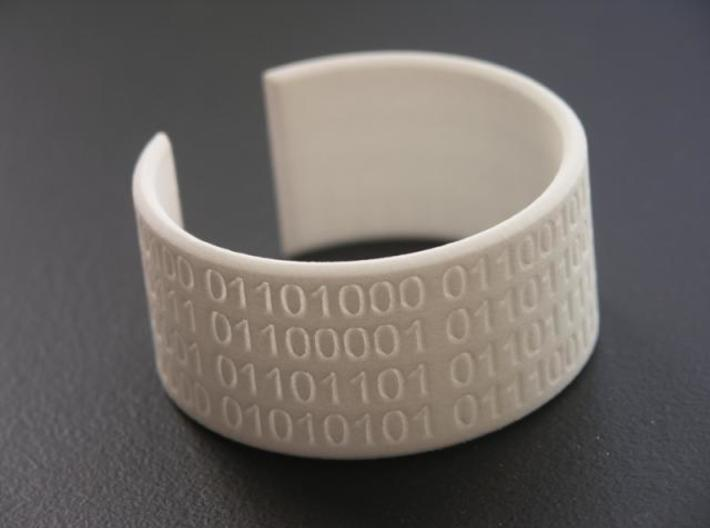 They Walk Among Us!! - Bracelet 3d printed Photo 1