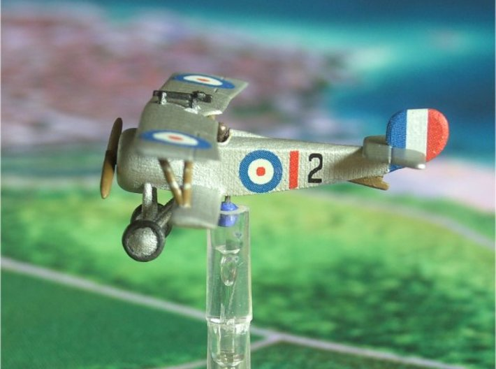 1/144 Nieuport 17 Lewis gun 3d printed Photo of FUD model by Alex (Schlonz at wings or war forum)