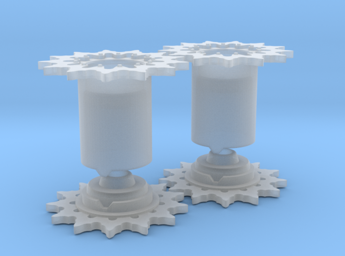 Sherman tank - Drive Sprocket set - Full (1:35) 3d printed