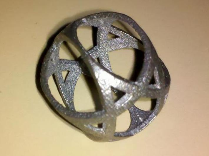 Jewish Star Sphere 3d printed photo