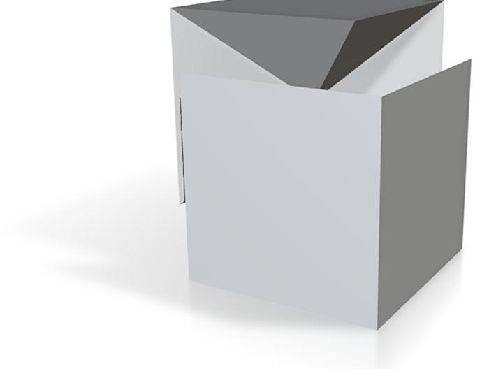 Pyramidenwürfelteilung 3d printed