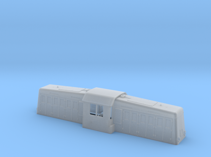NS 2000 (Whitcomb) body shell 1:87 3d printed