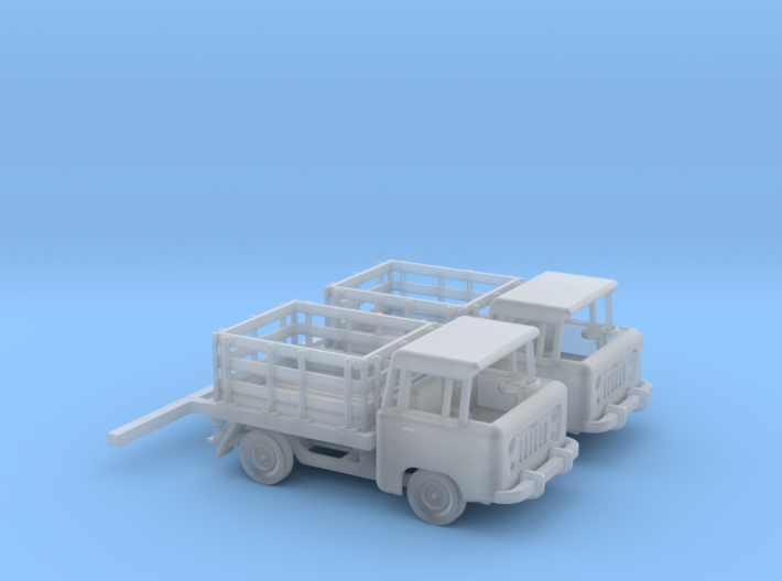 1959 FC150 Pickup Truck with Stakebed (x2) 3d printed