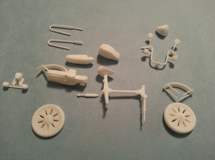 Honda Express Scooter 1/16th scale model 1977-1983 3d printed