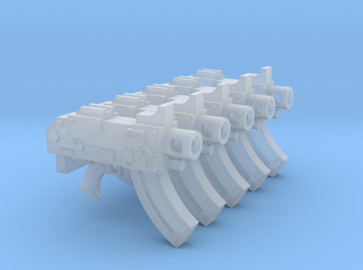 Space Magicians (Lo) Mk87 Thunderbolt Pistols 3d printed