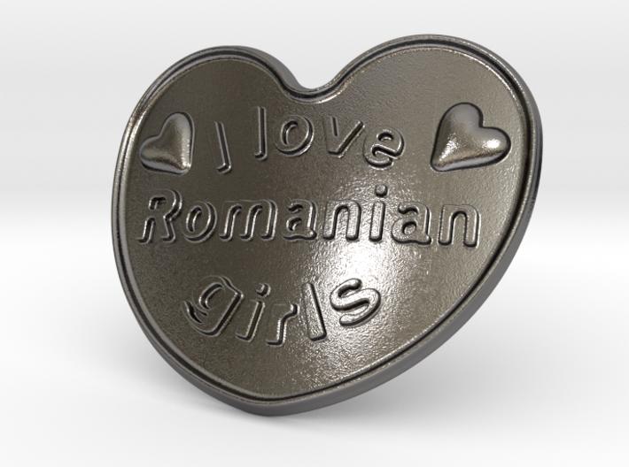 I Love Romanian Girls 3d printed