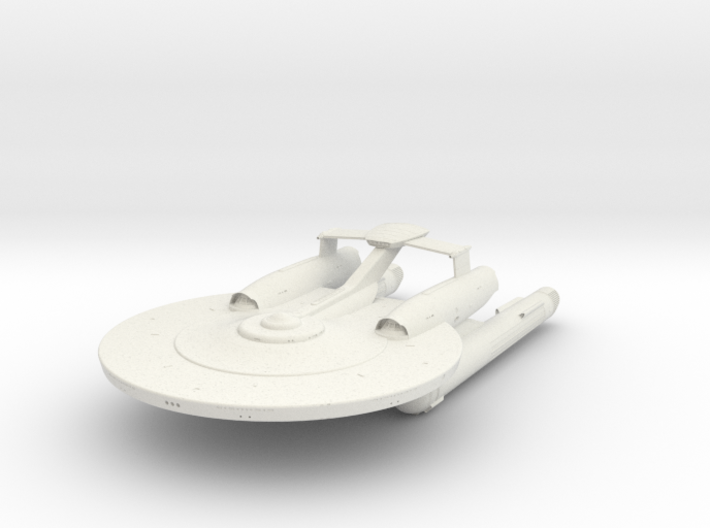 Miranda Class V Cruiser 3d printed