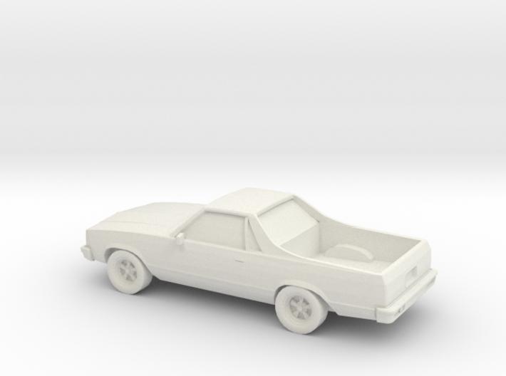1/87 1981 Chevy El Camino 3d printed