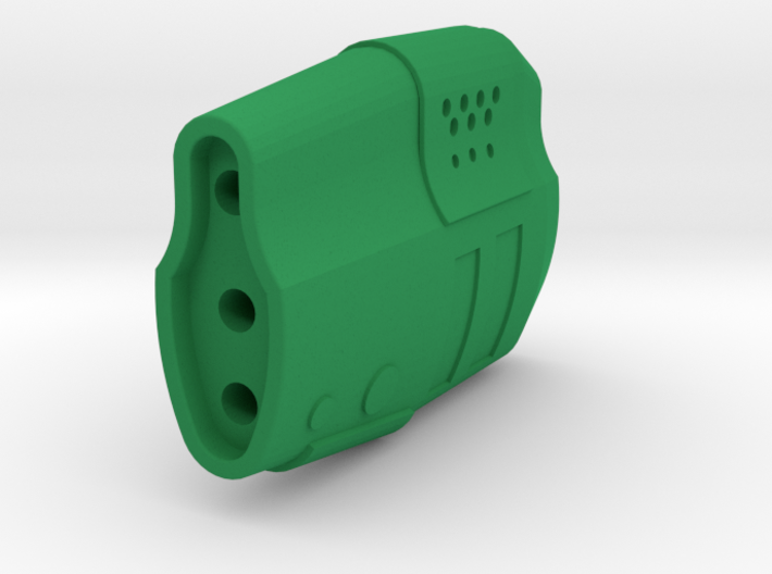Gunder Muzzle Front End (14mm Self-Cutting) 3d printed