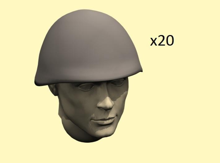 1/35 WW2 Soviet SSh40 helmets 3d printed