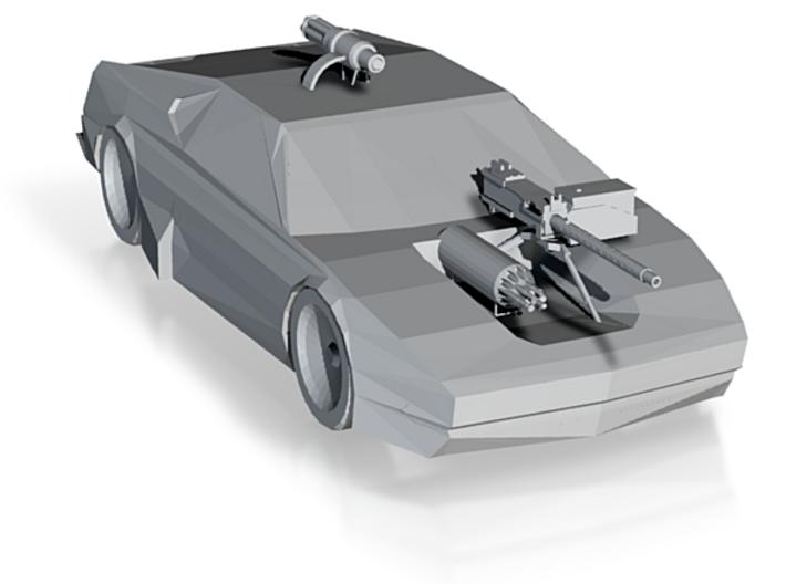 Car 1 death track racer 3d printed