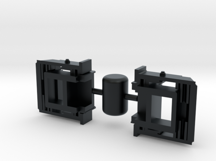 CP0002 GE Late Coupler Plate Type F 1/87.1 3d printed