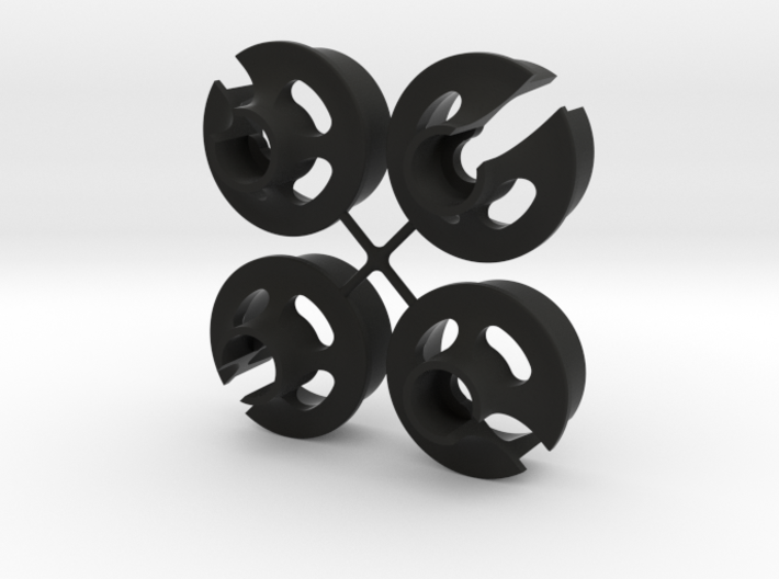 TLR Spring Cup V2 - x4 3d printed