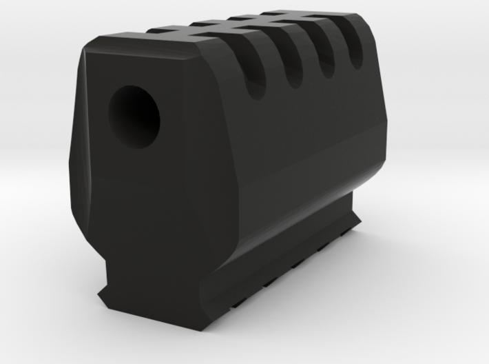 J.W. Airsoft Compensator (14mm Self-Cutting) 3d printed