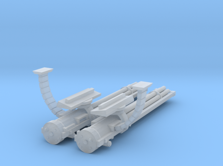28mm Flyer Gathling guns kit 3d printed