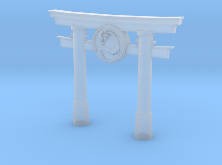 Dragon Torii Gate - BATTLEGROUND HD 3d printed