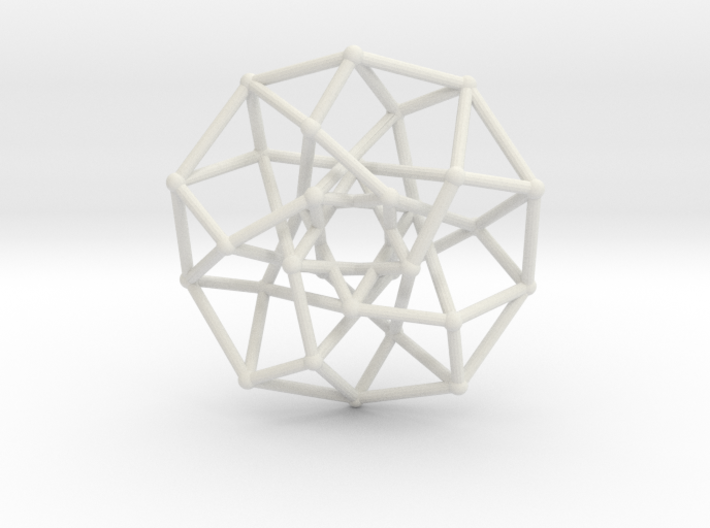 4D Archimedean Hyperform Toroidal Projection 3d printed