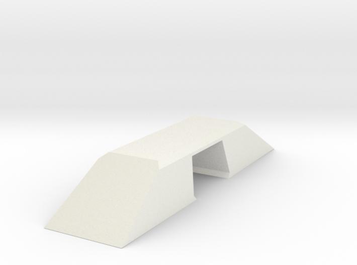 Modern Bridge Double Wide N Scale 3d printed