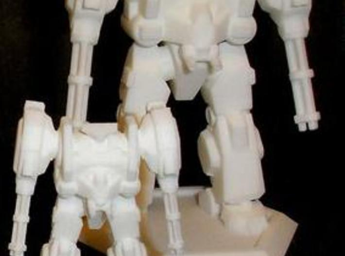 Mecha- Hunter (1/160th) 3d printed WSF Printout