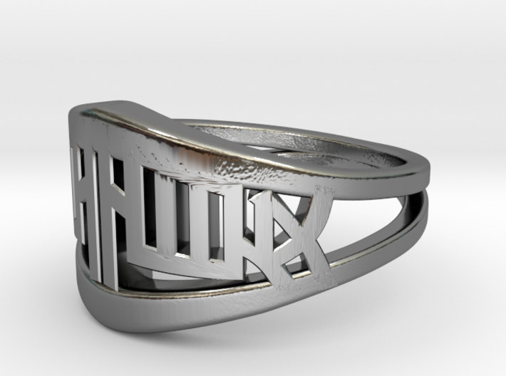 Chinese Twin Ring 3d printed Chinese Twin Ring