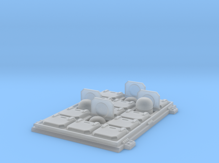 Tornado VLS hatch: launch 3d printed
