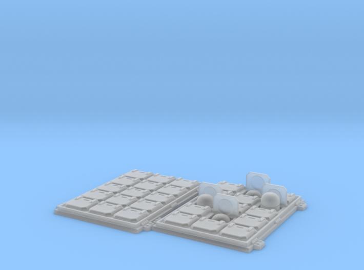 Tornado VLS hatch: Combo1 3d printed