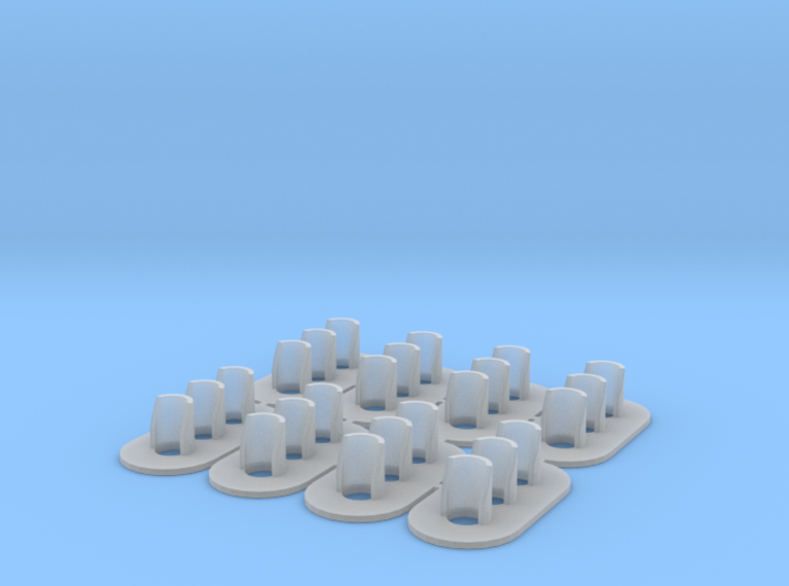 Proto S Scale (1-64) GRS Type D 3 Light Signal 3d printed