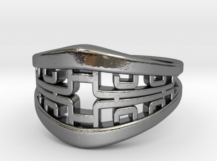 Korean Twin Ring 3d printed Korean Twin Ring
