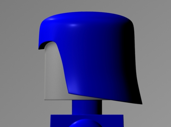 Cobra Commander Helmet For Minimates 3d printed