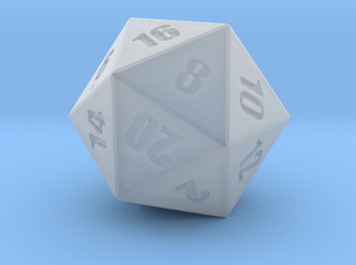 D20 - Simple 3d printed