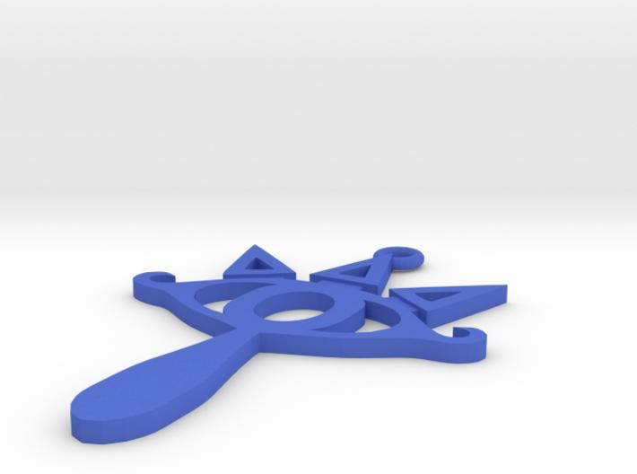 Sheika Keychain 3d printed