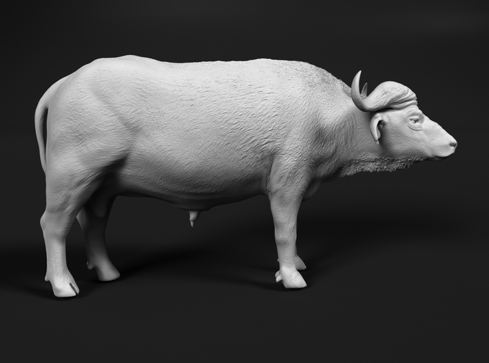 Cape Buffalo 1:20 Standing Male 1 3d printed