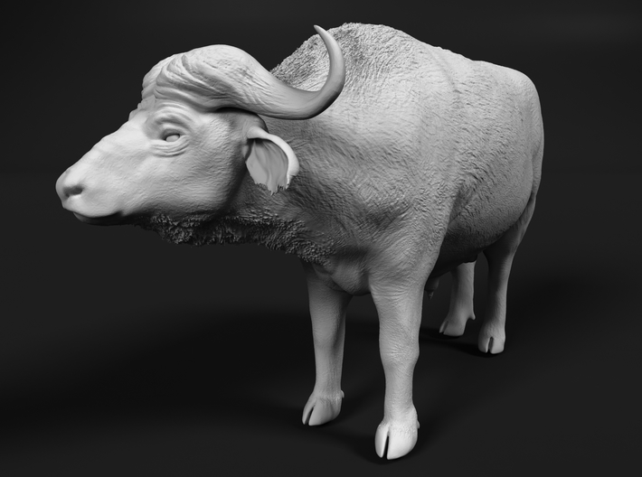 Cape Buffalo 1:45 Standing Male 1 3d printed