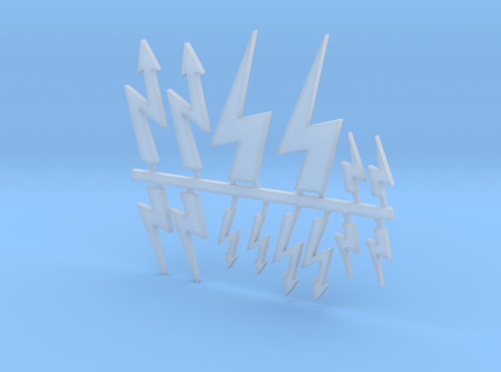 Lightning Sprue 3d printed