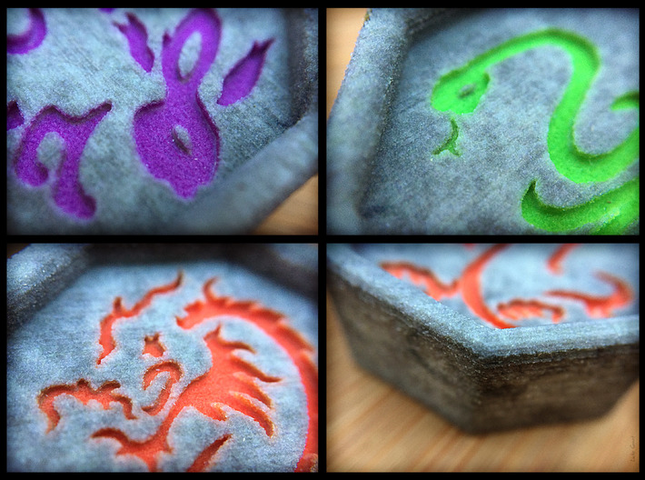 Dragon Talisman 3d printed