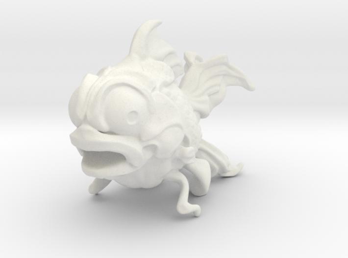Crazy Fish 3d printed