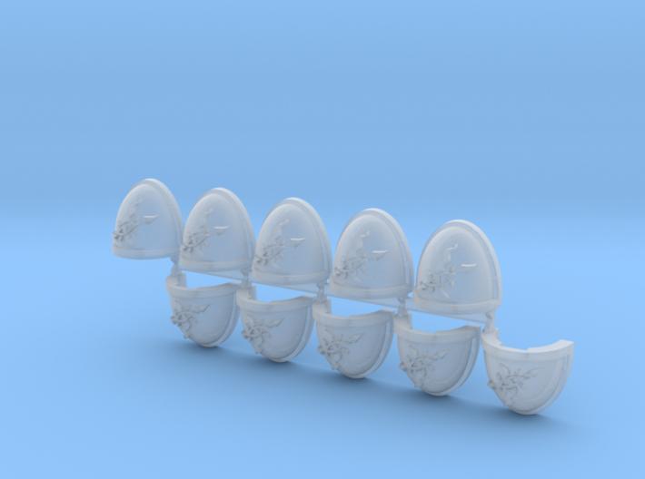Scourged Shoulder Pads Mk7/8 L x10 3d printed