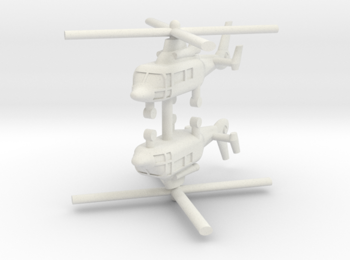 1/250 Eurocopter AS365 Dauphin (x2) 3d printed