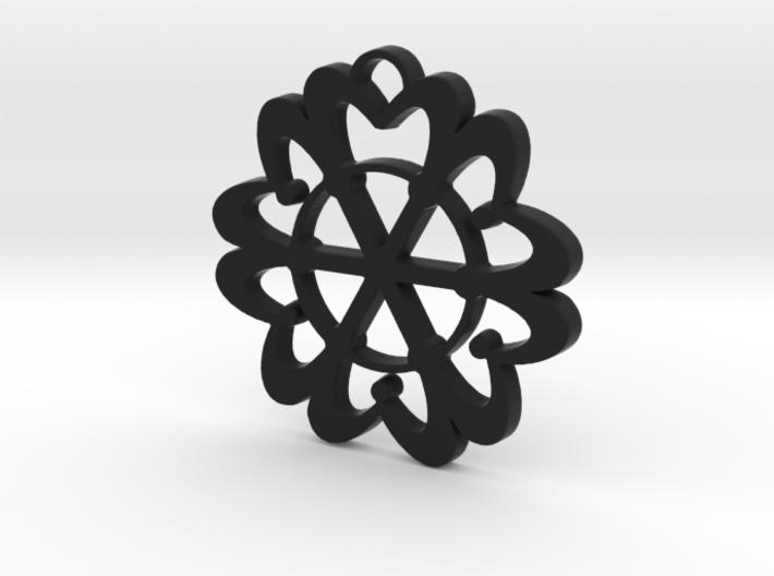 Exotic flower 3d printed