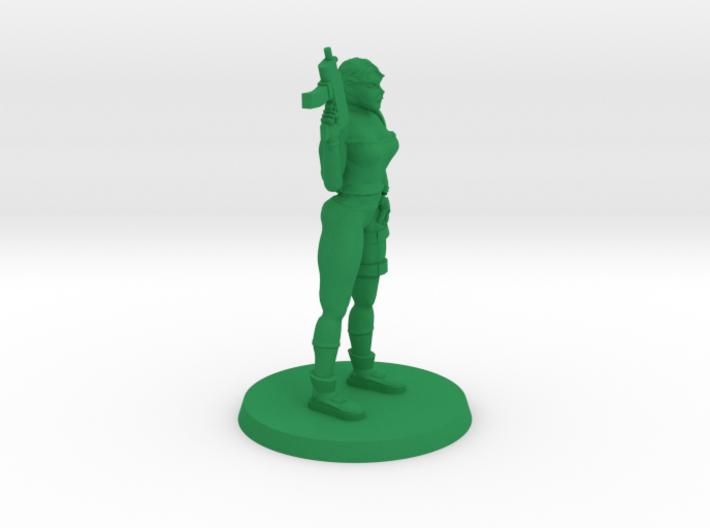 36mm Veronica Zombie Hunter 3d printed