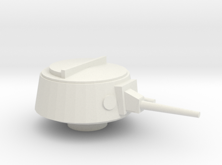 Ka-Mi Turret 15mm - 1/100 3d printed