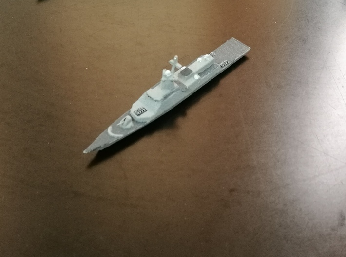 Gremyashchiy-class Corvette, 1/1800 3d printed Painted Sample