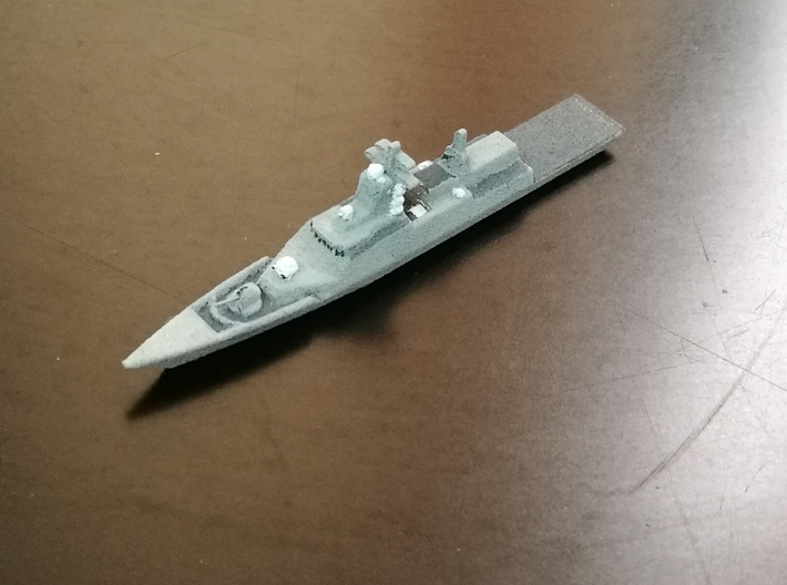 Steregushchy-class Corvette, 1/1800 3d printed Painted Sample