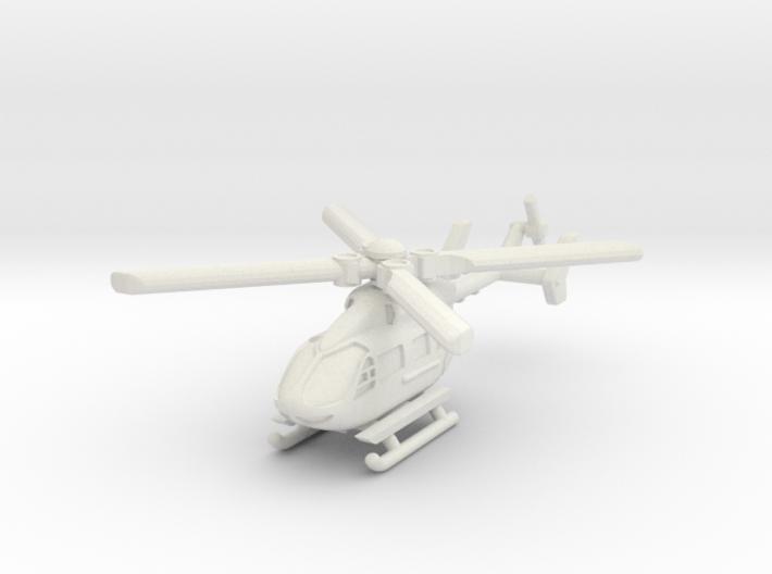 Eurocopter UH-72 Lakota 6mm 1/285 3d printed