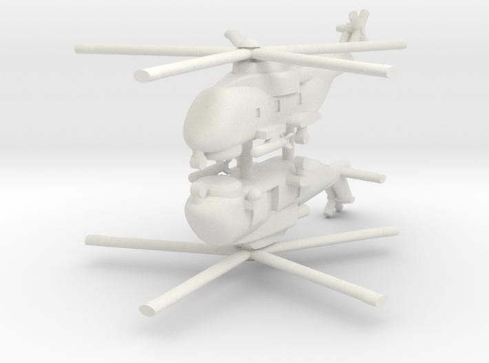 1/285 AW101 (HM1) Merlin (x2) 3d printed