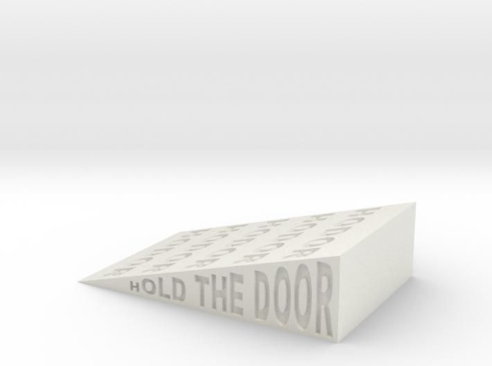 Hodor Wedge 3d printed