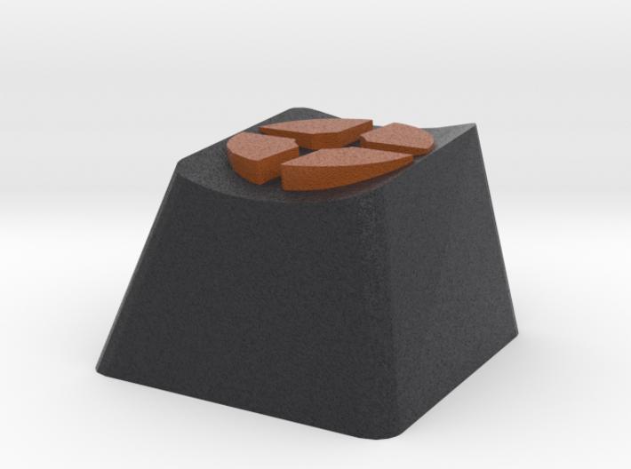Team Fortress 2 Cherry MX Keycap 3d printed